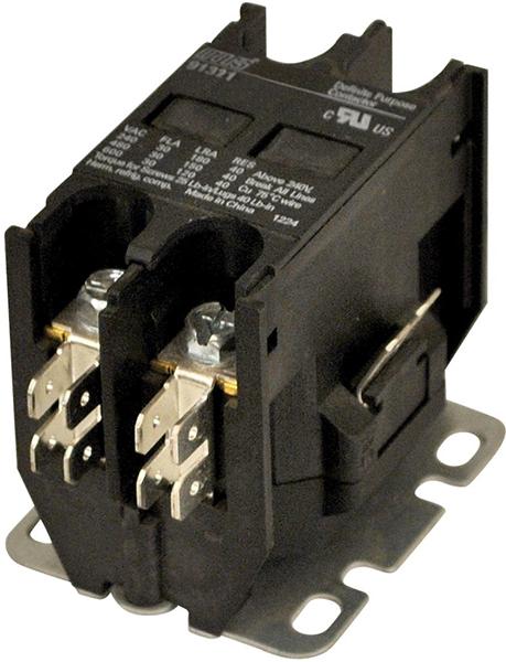 2 Pole Definite Purpose Contactor - 24 V, 30 A
