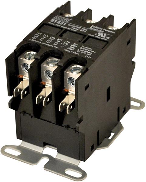 3 Pole Definite Purpose Contactor - 24 V, 40 A