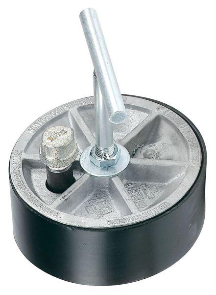 "10"" Pipe Gripper Pipe Plug, Aluminum"