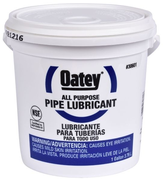 1 Gallon, 220 Deg F Flash Point, Off-White, Pipe Lubricant