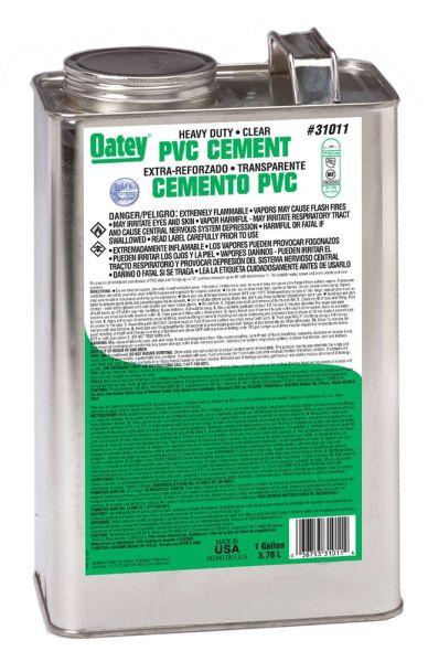 1GAL PVC CEMENT-HD CLR