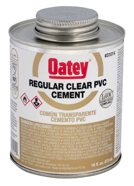 16OZ PVC CEMENT-REG