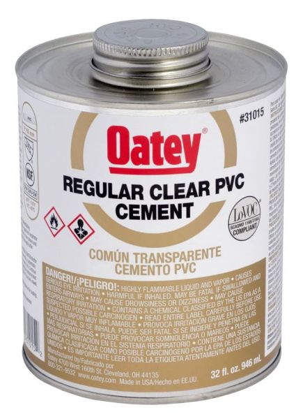 32OZ PVC CEMENT-REG