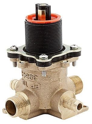 "1/2"" Rough-In Pressure Balancing Tub and Shower Valve - PermaBalance, PEX, 5.5 GPM at 60 psi, Solid Brass"