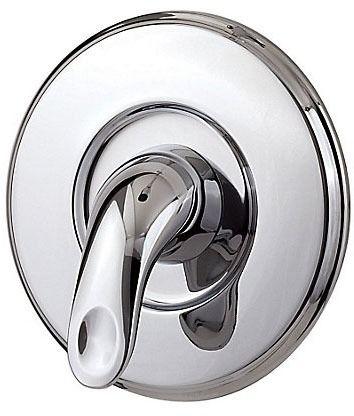 1-Lever Handle Tub and Shower Valve Trim - Serrano, Polished Chrome, Metal