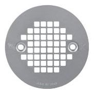"4-1/4"" Dia Drain Strainer - Stainless Steel"
