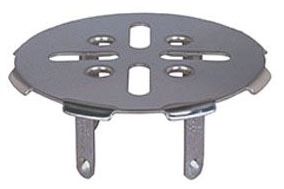 "2"" Dia Drain Strainer - Gripper, Stainless Steel"