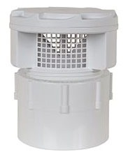 """Air Admittance Valve with 1-1/2"""" Hub PVC SCH 40 Adapter - TurboVent"""