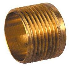 "1"" Brass Full Slip Male Straight Adapter - C x MPT"