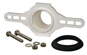 "2"" Urinal Flange Kit - PVC, Hub"