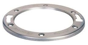 Round Closet Flange Ring, Stainless Steel