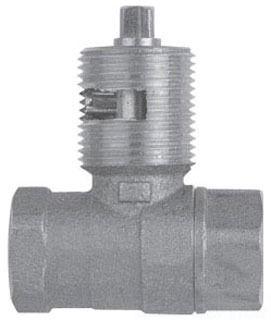 """1/2"""" Cast Brass Straight Log Lighter - Hearthmaster, 1/4 Key, FPT, 1/2 psi, Bulk"""
