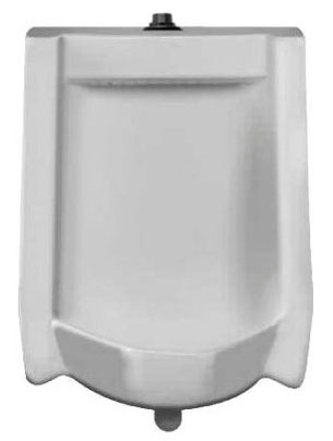 "Commercial Washdown Urinal - 0.5 GPF, 3/4"" Top Spud Inlet, White"