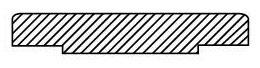 "2"" Forged Carbon Steel Blind / Raised Face Flange - 300/740 psi"