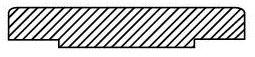 "3"" Forged Carbon Steel Blind / Raised Face Flange - 600/1480 psi"