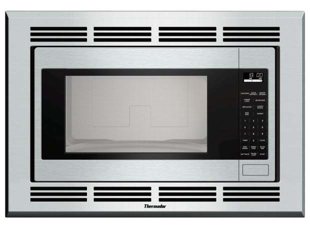 Built-In Microwave Oven, White Cavity