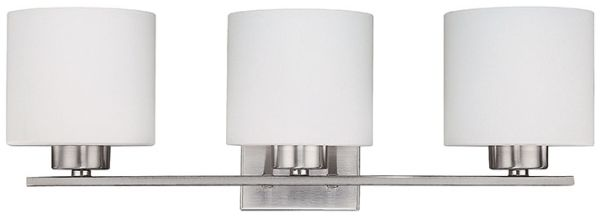 "23-1/4"" Light Vanity Fixture Brushed Nickel"