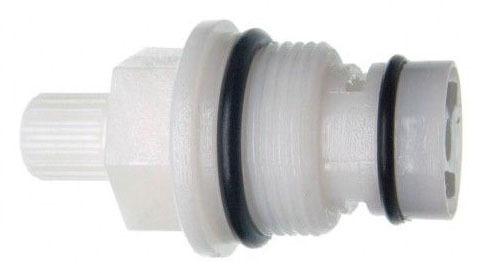 """1.99"""" x 1.06"""" Plastic Faucet Stem - Hot / Cold"""