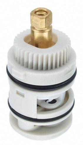 Diverter Hot/Cold Faucet Cartridge, Plastic/Brass