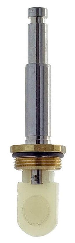 Diverter Hot/Cold Faucet Stem, Plastic/Brass