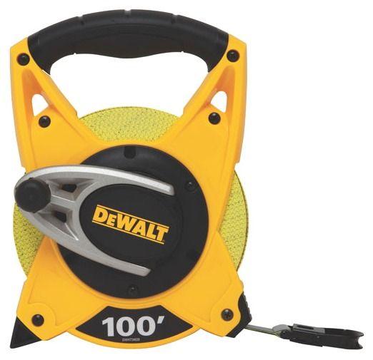 100' Open Reel Measuring Tape