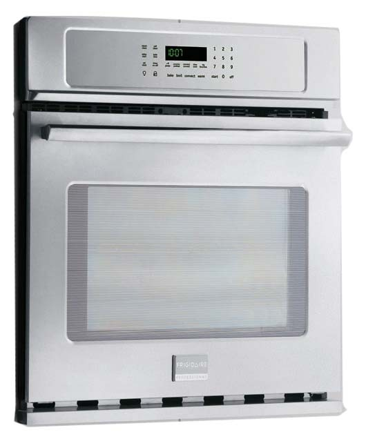 "30"" Stainless Steel Electric Wall Oven - Frigidaire Professional, Single, 208/240 VAC, 4.6 Cu Ft"