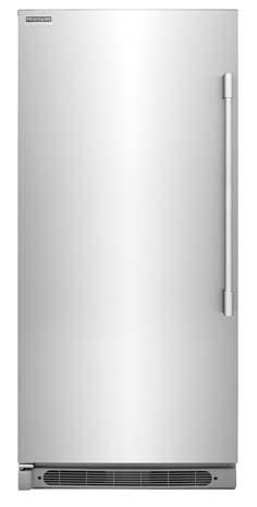"32"" Upright Counter-Depth Freezer, Glass Shelf"