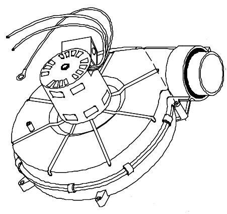 Gas Furnace Exhaust Blower