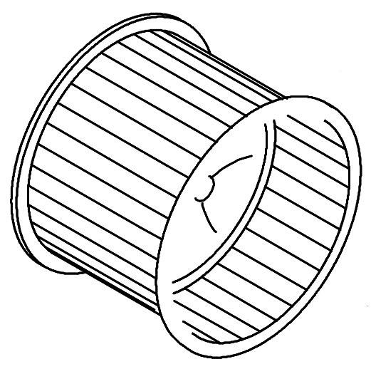 """12"""" x 12"""" Gas / Electric Unit Blower Wheel"""