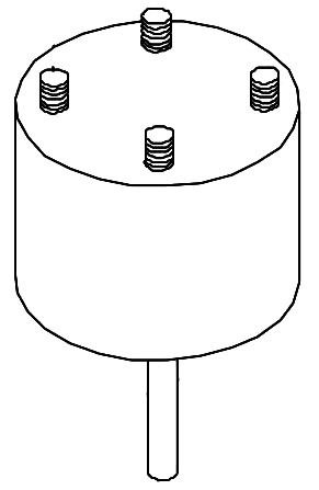 1/3 HP Air Conditioner Condenser Fan Motor - 230 VAC, 1-Phase