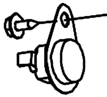 Gas Furnace Limit Switch - 350 Deg F