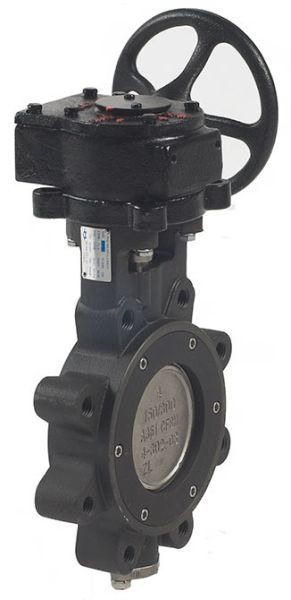 """4"""" Carbon Steel Gear Operated Butterfly Valve - Lug, Flanged, 150 psi, 285 psi"""