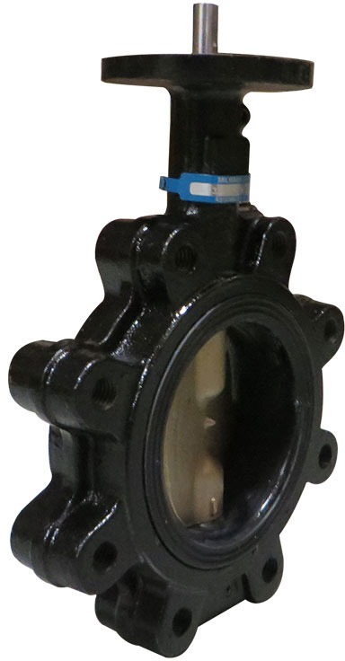 """10"""" Lug Butterfly Valve, Ductile Iron"""