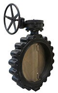 "16"" Lug Butterfly Valve, Ductile Iron"
