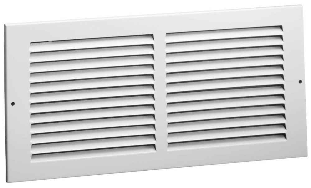 "8 X 6"" Return Air Grille, Steel"