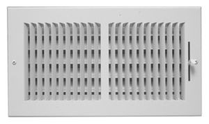 "20 X 6"" Cooler/Heater Register, Aluminum"