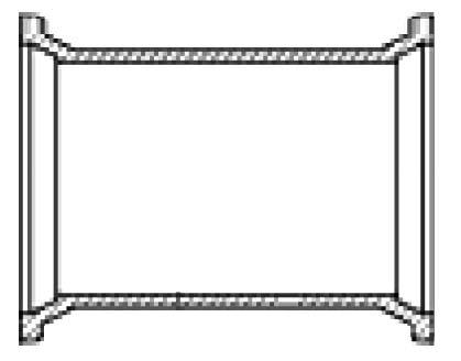 """4"""" Ductile Iron Import Long Sleeve"""