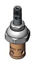 Compression Pre-Rinse Unit Control Valve Cartridge Spindle