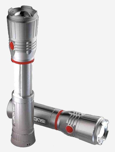 2 in 1 LED Flashlight/Worklight