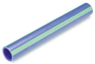 "2"" x 13' Fusiolen Polypropylene Pipe - Blue"