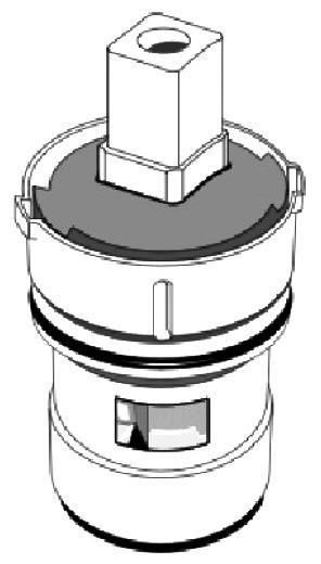 """1-5/16"""" Ceramic Faucet Stem - Kohler, Washerless"""