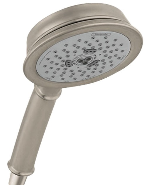 "G1/2"" MPT Hand Shower - Croma, 4-1/2"" Face, Brushed Nickel"