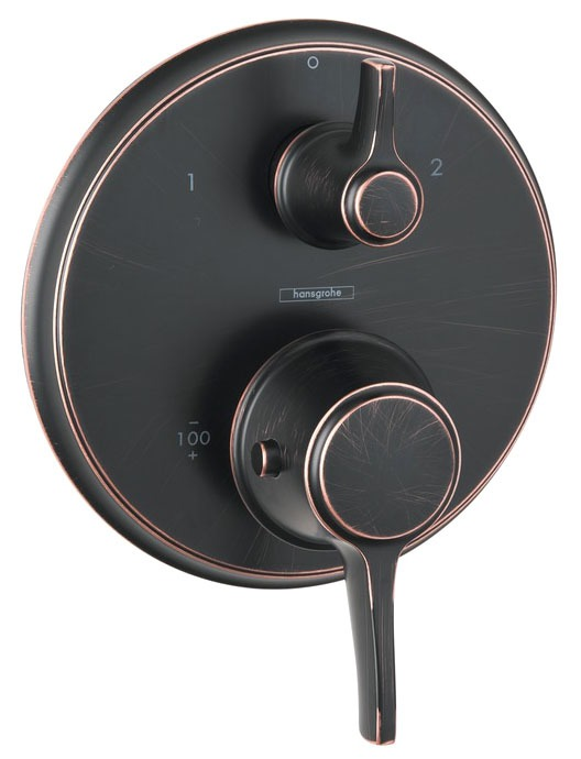 Thermostatic Volume Control Shower Valve - Ecostat, 7 GPM, Rubbed Bronze