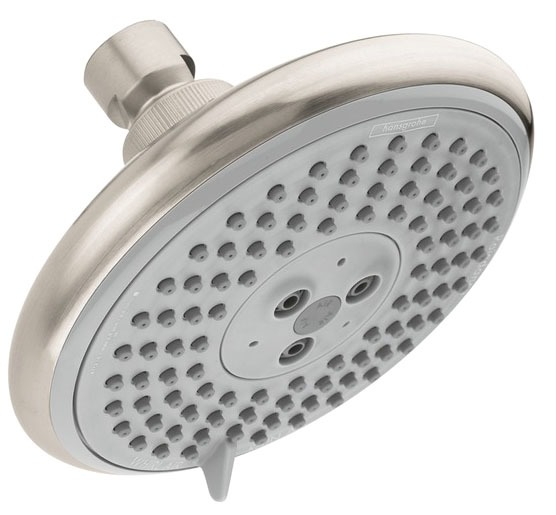 3-Jet 2.5 GPM Shower Head - Raindance, Brushed Nickel