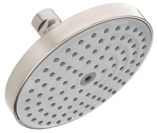 1-Jet 2.5 GPM Shower Head - Raindance, Brushed Nickel