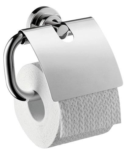 Toilet Paper Holder - Axor Citterio, Chrome Plated, Solid Brass