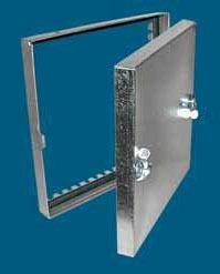 """12 X 12"""" Duct Access Door, Galvanized Steel"""