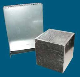 "10 X 20"" Combustion Air Vent, Galvanized Steel"