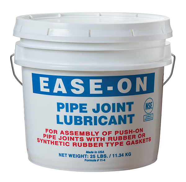 Pipe Joint Lubricant - Ease-On, Water Dispersable, 1 Qt. Pail