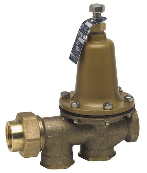 Threaded Union/Threaded Water Pressure Reducing Valve, Lead-Free Copper Silicon Alloy